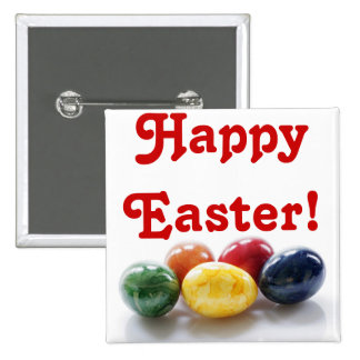 Happy Easter Decorated Eggs Designs Pin