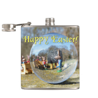Happy Easter! Easter Bunny school 02.0.T Flask