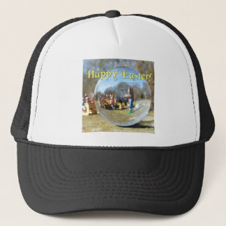 Happy Easter! Easter Bunny school 02.0.T Trucker Hat