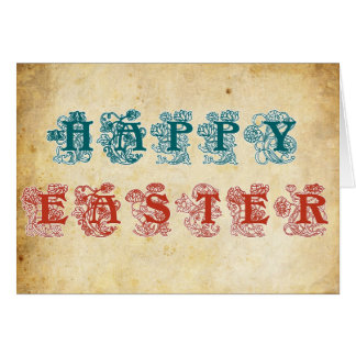 Happy Easter , Easter greeting Greeting Card