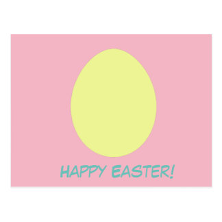 Happy Easter Egg Postacard Postcard