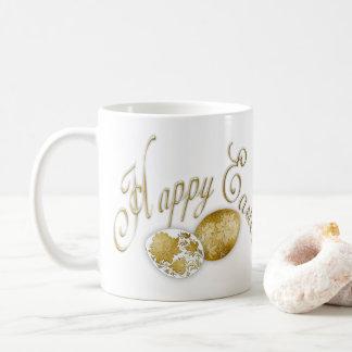 Happy Easter Egg - Russian Folk Art - 1 Coffee Mug