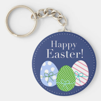 Happy Easter Eggs Keychains