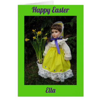 Happy Easter Ella Card