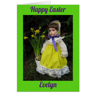 Happy Easter Evelyn Card