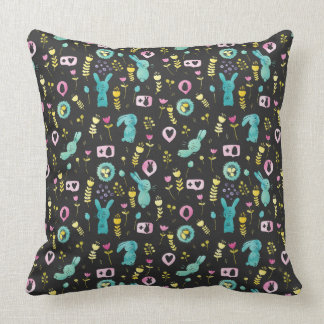 Happy Easter Everybunny Throw Pillow