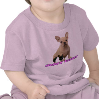 Happy Easter French bulldog toddler  T-shirt