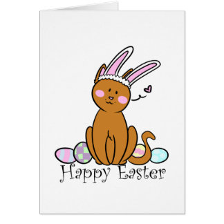 Happy Easter from the cat Card
