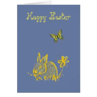 Happy Easter Fun Bunny Card