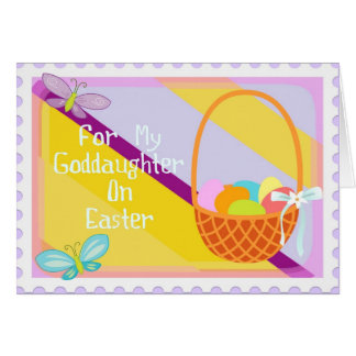 Goddaughter easter gifts goddaughter easter gift ideas on zazzle happy easter goddaughter card negle Choice Image