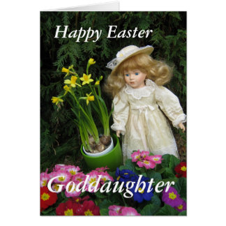 Happy Easter Goddaughter Card