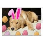Happy Easter Golden Retriever