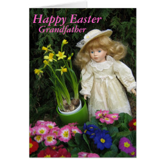 Happy Easter grandfather Card