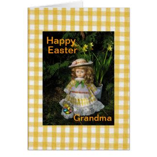 Happy Easter grandma Card
