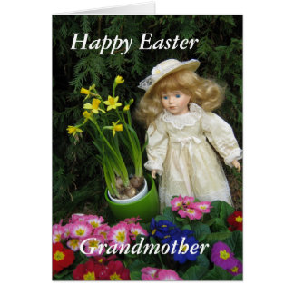 Happy Easter Grandmother Card