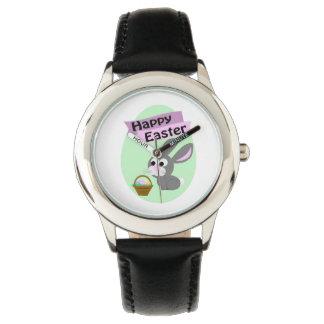 Happy Easter! Gray Bunny Wrist Watch