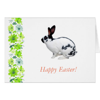 Happy Easter greeting card. Card