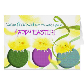 Happy Easter - Greeting Card - Cracked Out