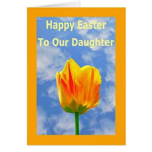 Happy Easter Greeting Card for Daughter