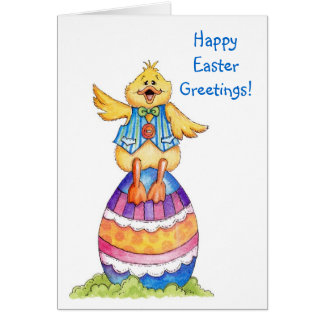 Happy Easter Greetings - Card