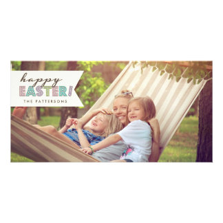 Happy Easter Hello Spring Photo Card