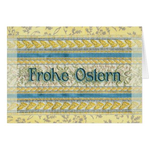 Happy Easter in German Greeting Cards