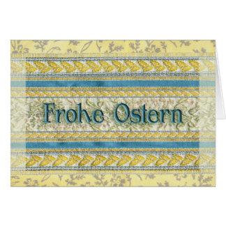 Happy Easter in German Greeting Card