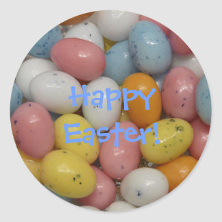 Happy Easter Jellybean Sticker