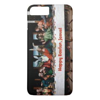 Happy Easter, Jesus! Funny Easter iPhone 7+ Case