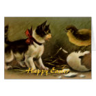 Happy Easter Kitten Greeting Card