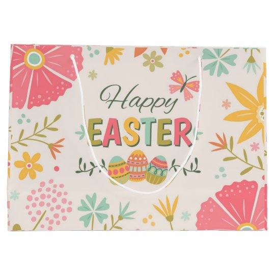 Happy Easter Large Gift Bag