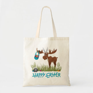 Happy Easter Moose - Small Tote
