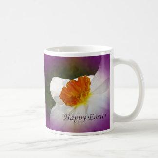 Happy Easter Narcissus - Springtime Beauty Coffee Mug