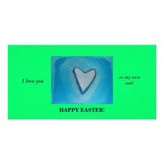 HAPPY EASTER OWN SOUL CUSTOM PHOTO CARD