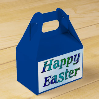 Happy Easter Party Favor Boxes