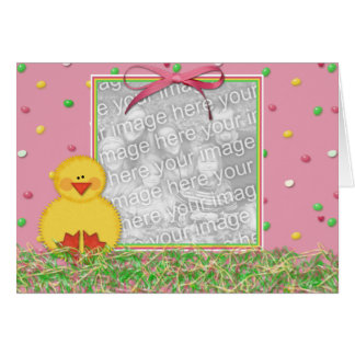 Happy Easter Photo Frame Card