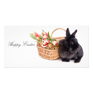 Happy Easter Personalized Photo Card