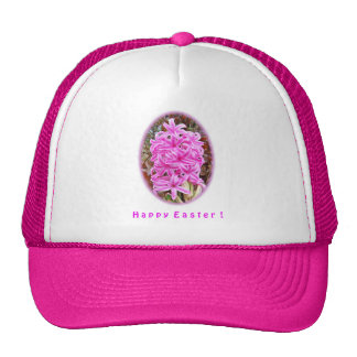 Happy Easter Pink Hyacinth Shirts & Gifts Hat
