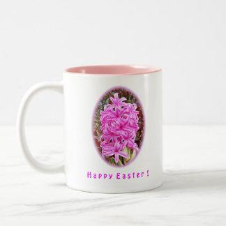Happy Easter Pink Hyacinth Shirts & Gifts Mug