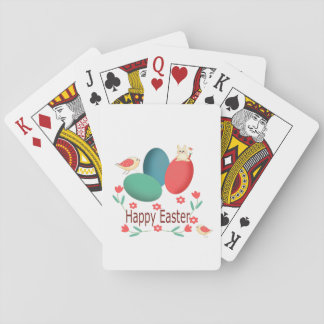 Happy Easter Playing Cards