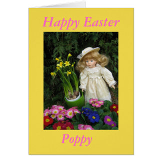 Happy Easter Poppy Card