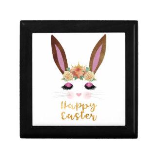 Happy Easter Princess Bunny Face Gift Box
