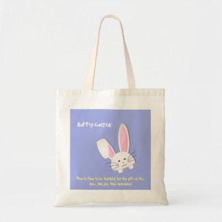 Happy easter! rabbit and phrase