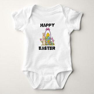 Happy Easter Rabbit Baby Jersey Bodysuit