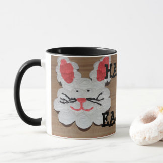 Happy Easter Rabbit Coffee Cup