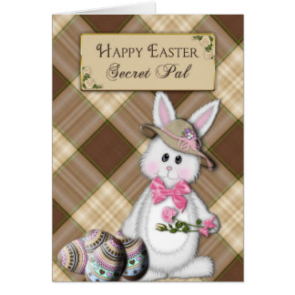 HAPPY EASTER - SECRET PAL - BUNNY CARD