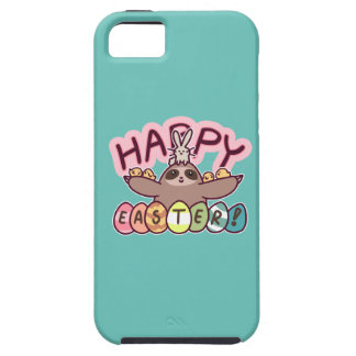 Happy Easter Sloth Case For The iPhone 5