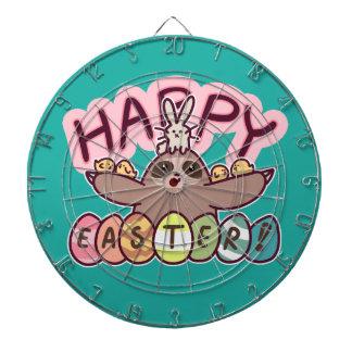 Happy Easter Sloth Dartboard