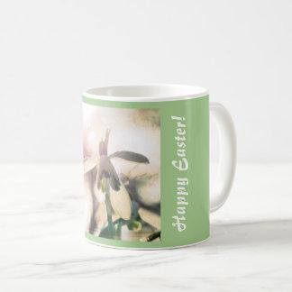 Happy Easter! Snowdrop lyrical 01.01q.T Coffee Mug