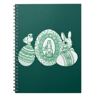 Happy Easter Spiral Notebook
